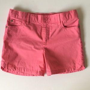 Pink gap classic kids shorts